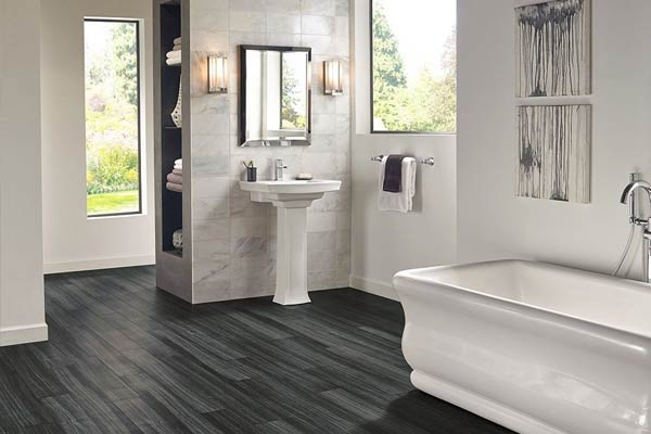 lvt lvp bathroom